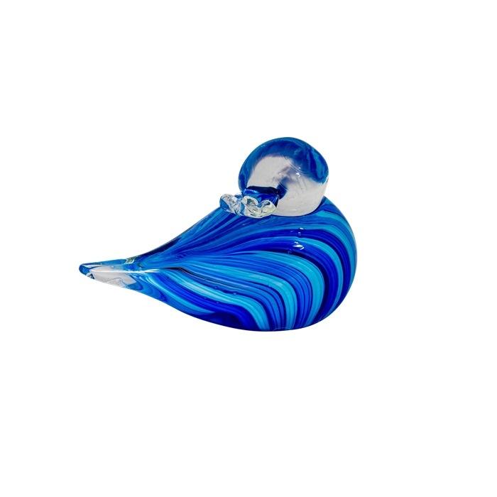 And, Stribe blå, se tilbage