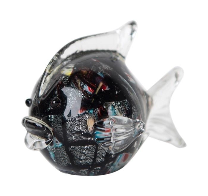 Glasfisk, Sort/multi