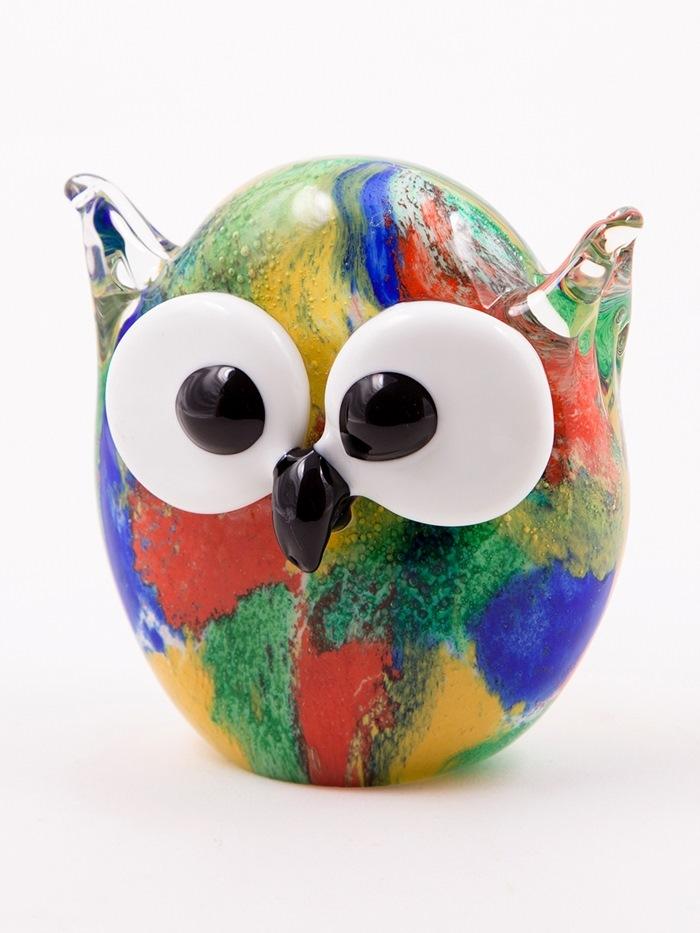 Glasugle, rund, multicolour, Ø10 cm