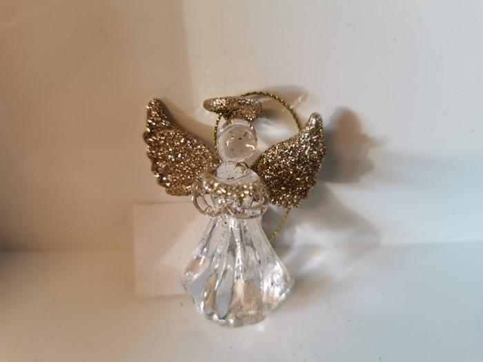 Minna engel, guld, v/12 stk (12654)