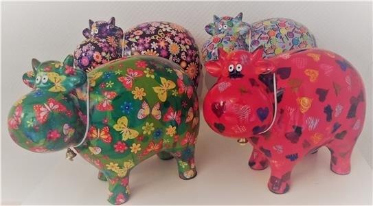 """Moneybank, Cow XL  """" BIG BELLA"""", 4 ass, v/ 4 stk"""