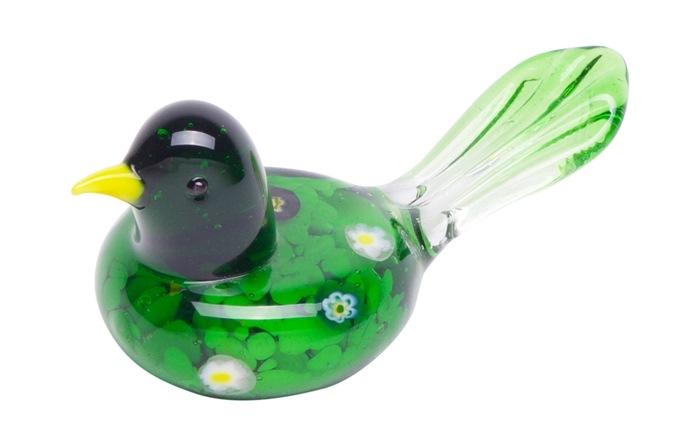 Rund fugl, Grøn