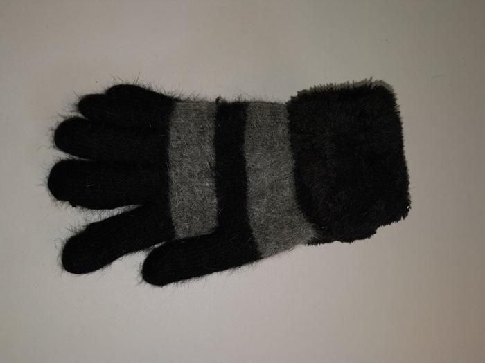 Strikhandsker, Stribede sort/mørkegrå