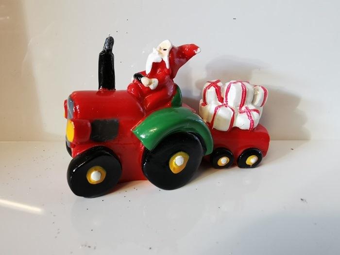 Tomtesson m/traktor, v/12 stk. (21044)